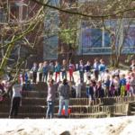 l'Autre Ecole Ecole Primaire AUderghem récréation terrain d'aventure nature