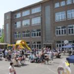 Collège Saint-Pierre de Jette primaire fondamental récréation