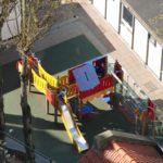 La Nouvelle Ecole Saint-Josse-ten-Noode récréation primaire