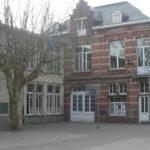 école maternelle Saint-Michel jette entrée