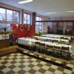 Ecole Regina primaire fondamental réfectoire