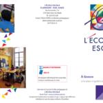 Ecole Escale Grandir spécialisé maternel Saint-Josse-Ten-Noode