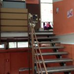 Institut Saint-Curé d'Ars Primaire Forest escalier