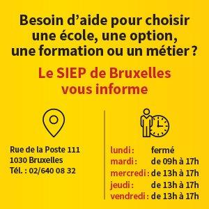 Siep Bruxelles Horaire